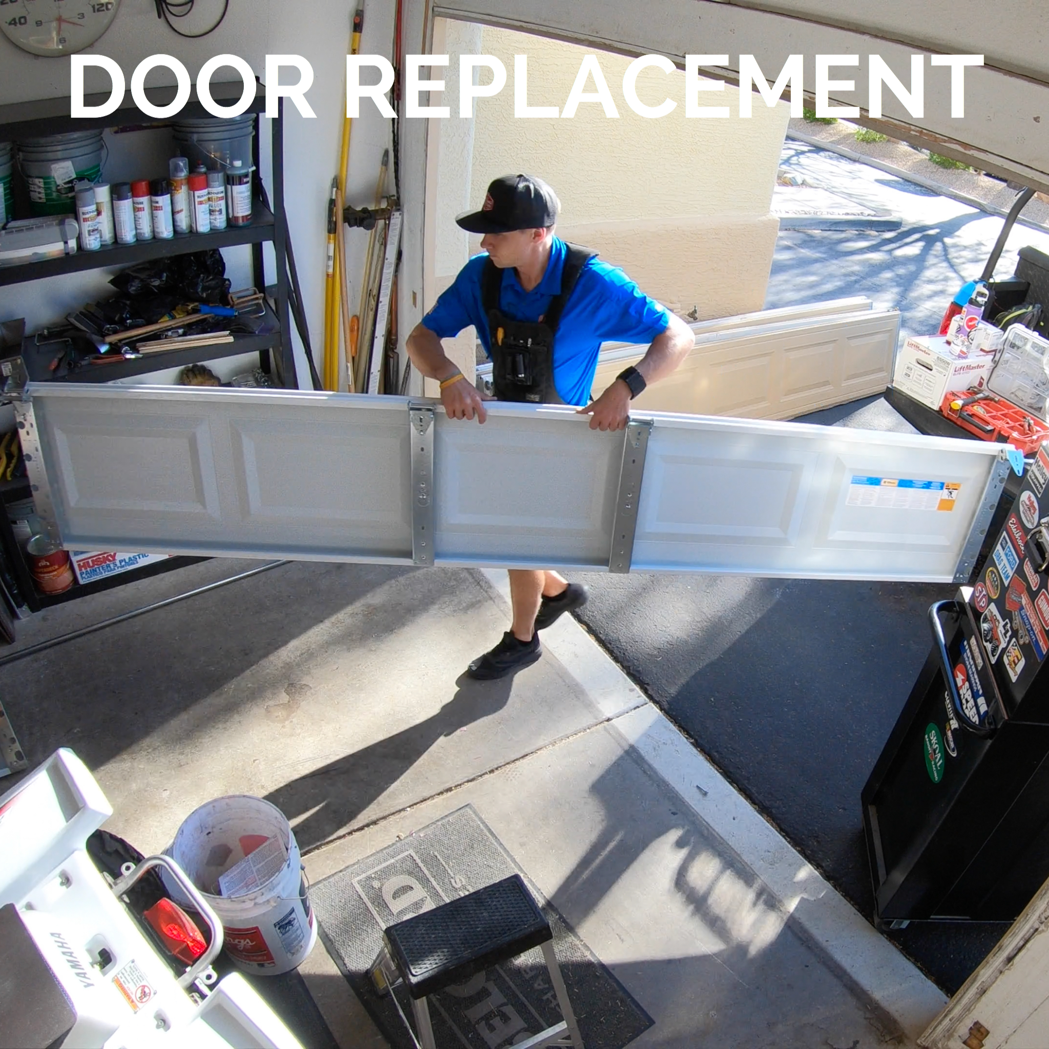 Garage Door Repair Installation And Replacement Service