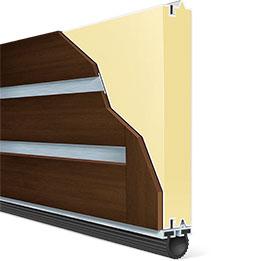Canyon Ridge modern series panel side view