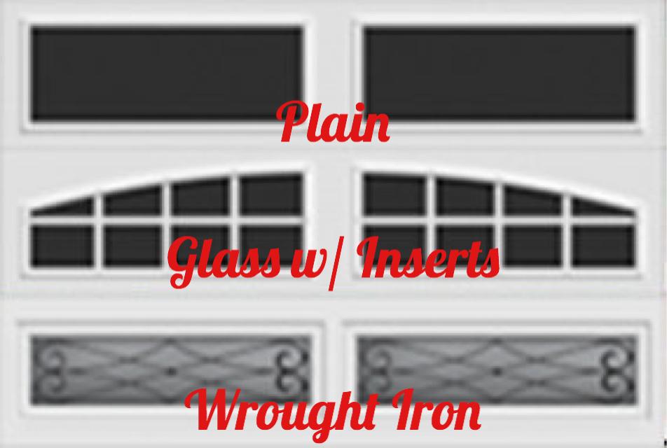 long panel glass top options