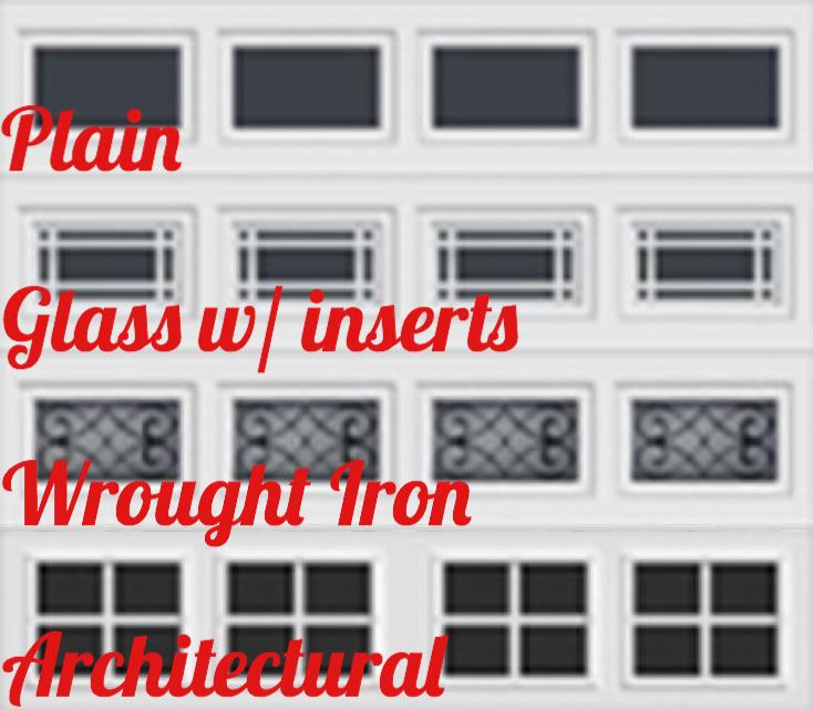glass panel options