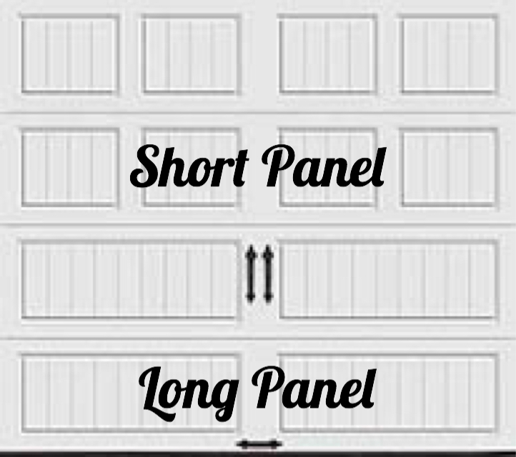 1-layer short and long panel example