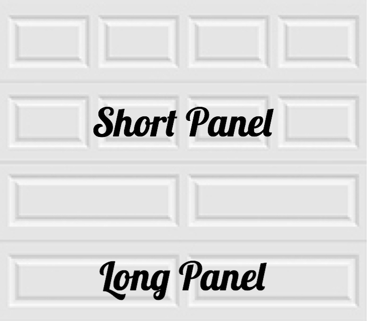 1-layer short and long panel designs