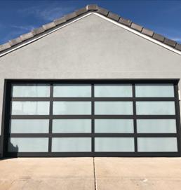 all glass door design