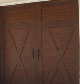 composite barn door design