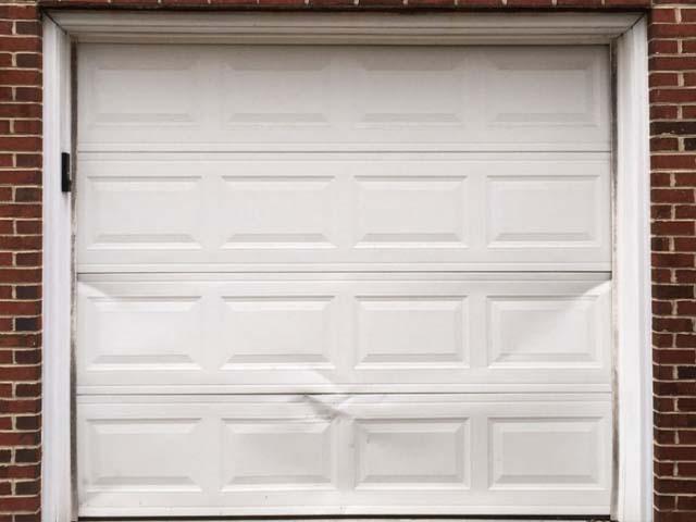 Garage door repair or replacement panel